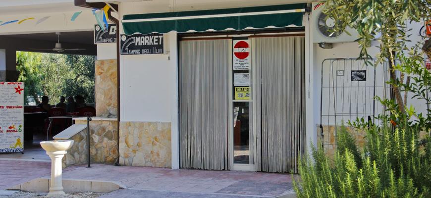Bar e Mini Market | Village degli Ulivi | Gargano